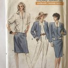 Vogue 7137 Misses'/Misses' Petite Jacket, Skirt & Pants Size 12 14 16 Sewing Pattern