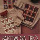 Indygo Junction Patchwork Trio  Decorated Shirt.  No-Sew Applique Process #527