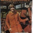 Workbasket Magazine October 1972 Vintage patterns Doilies, corner to corner afghan
