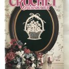 Annie's Crochet Newsletter No. 40 Mini Tea set, baby boy outfit, doilies, afghans