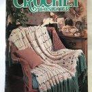 Annie's Crochet Newsletter No. 43 toys, pillow, sachet, slippers