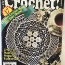 Hooked On Crochet No. 52 with 17 projects, afghan, watermelon chair covers, flower doily