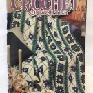 Annie's Crochet Newsletter No.50 afghan, vest, pot holder, wall hanging