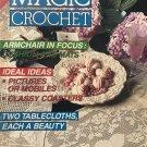 Magic Crochet Pattern Magazine Number 72 June 1991 Doilies, curtain, tops