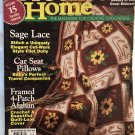 Crochet Home Magazine number 55 Oct. Nov  1996 afghans, car seat pillows, sage lace doily