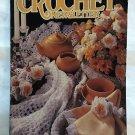 Annie's Crochet Newsletter No 62 afghan, Filet crochet, tops, afghan, bedspread, toys