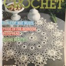 Decorative Crochet Magazine Number 20 March 1991 Crocheted tablecloth bedspread Doilies
