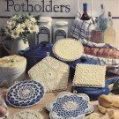 Pretty Crocheted Potholders Crochet Pattern Book Leisure Arts 978