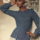 Coats & Clark book 220 The Now Look in Cotton crochet & knit pattern BIKINI instruction and more