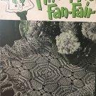 Pineapple Fan-Fair Vintage thread Crochet Pattern Coats & Clark's Book 266