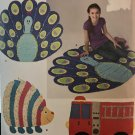 Simplicity 1442 Sew Pattern RAG QUILTS Peacock Fire Truck Hedgehog LONGIA MILLER