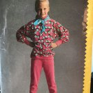 Butterick 5787 Girls pullover top and tapered pants sewing pattern size 12 -14