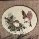 Common Redpolls No 11 Crossed Wing Collection By Paula Minkebige Cross Stitch Pattern