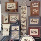 Leisure Arts 867 Cross stitch charts Through the Week with the Sunbonnet Babies