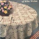 Favorite Crocheted Tablecloths of Rita Weiss 1035 American School of Needlework