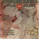 Crochet with Heart Magazine Issue June 2001 crochet patterns for toys, afghans, baby items & more
