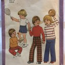 Simplicity 8213 Toddlers' and Child's Pullover Tops, Pants and Shorts Sewing Pattern size 3