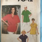 Simplicity 8471 MISSES' Button down Tops or Tunic Sewing pattern size 16 bust 38""