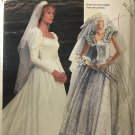 McCall's 2342 Priscilla designer Misses' Bridal Gown Sewing Pattern size 14 16 18
