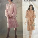 Vogue American Designer 1166 Albert Nipon - Misses' Dress and Belt sewing pattern size 10