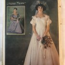 Simplicity 6763 Michele Piccione Misses' Bridal Gown bridesmaid dress Sewing Pattern size 10