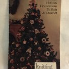 Victorian Holiday Decorations Christmas Ornaments Knit & Crochet Simplicity pattern 0497