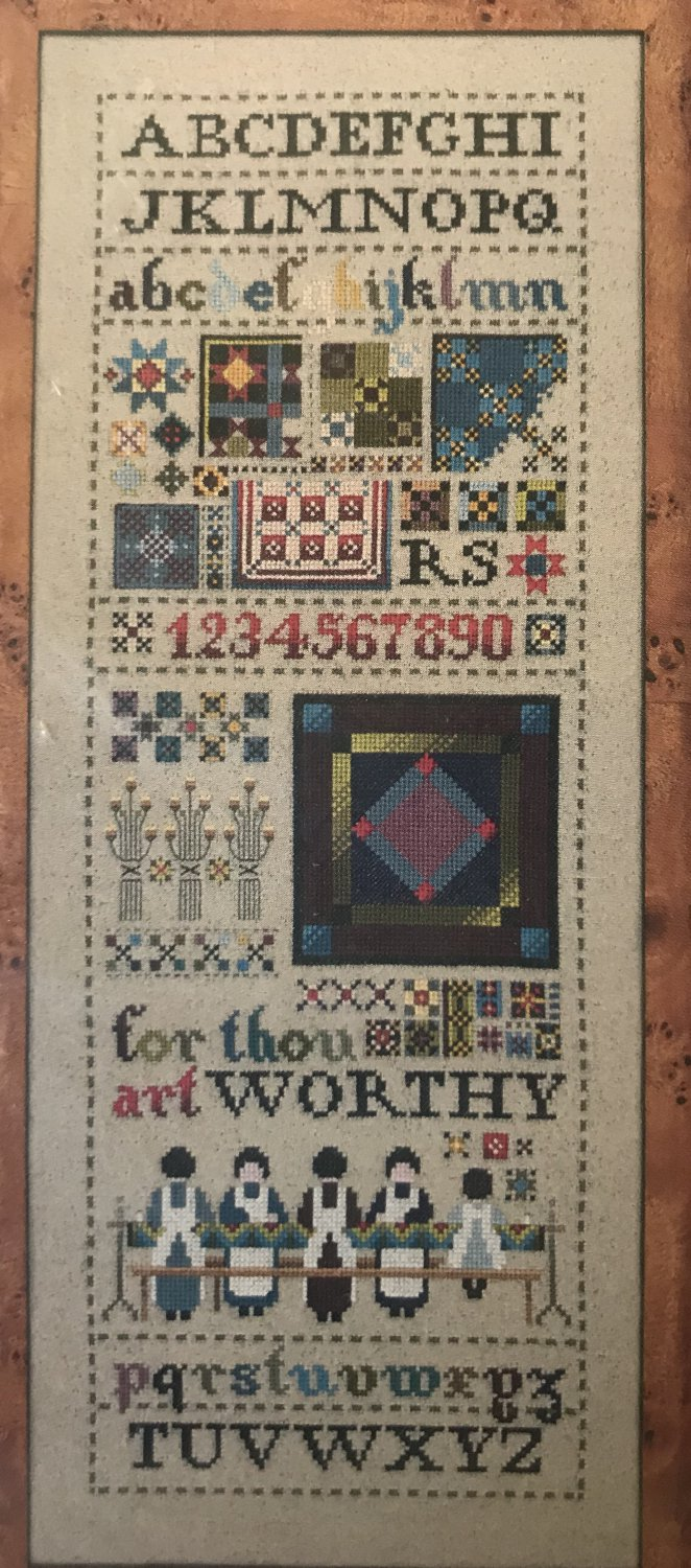 Amish Quilt Sampler Cross Stitch Pattern TG46 Told-in-a-Garden