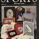 Stoney Creek Cross Stitch Book 46 SPORTS graphs for Football, Volleyball, Gymnastics & more