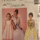 McCall's 2643 Special Moments Girl's Dress and lined Jacket Sewing Pattern Size 3 4 5