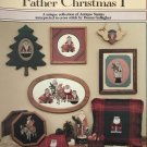 Father Christmas I, the Schiffer Collection Counted Cross Stitch no. 463