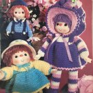 Crochet Darlings Doll & Toy pattern Leisure Time Publications MM901