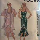 Kwik Sew 2047 Misses' Nightgown & Jacket sewing pattern XS to XL