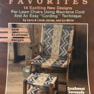 Macrame Lawn Chairs Pattern PATIO CHAIR FAVORITES Plaid Enterprises 8396