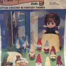 Once Upon a Time Dolls Cotton Crochet in Fantasy Themes Snow White & Dwarfs