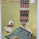 Toys and Novelties Beehive Patons book 141 duck, turtle, pandas, bag, wallhangings, rug