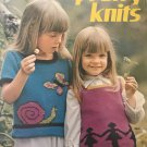 Pretty Knits Columbia Minerva 2648 Knitting patterns sweaters & vests for childrens' sizes 4 6 8