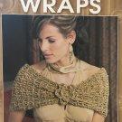 Glamour Wraps Leisure Arts 4497 4 designs by Melissa Leapman