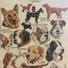 Leisure Arts 3583 Gone to the Dogs Mini Series #12 by Mary Ellen