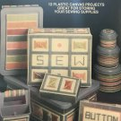All Stitched Up Sewing Plastic Canvas Sewing Supplies pattern Hot Off The Press