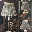 LAMPSHADE COVERS Thread Crochet Pattern Leisure Arts 2363
