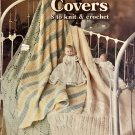 Leisure Arts 126 Crib Covers Baby Afghans Knit & Crochet Pattern
