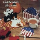 Celebration Coasters The Needlecraft Shop 954011 Plastic Canvas Ghosts Christmas Candle 4th of July