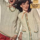 Tennis Sweater, Dress and top - Cruise Yarn Knitting Pattern Unger 243