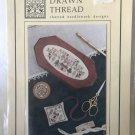 "The Drawn Thread Sampler cross stitch chart ""Sampler Necessaire"" and scissor keeper,"