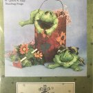 """Be Be Buds Frog Bean Bag Toy Cotton Ginnys 8"""" quick & easy"""