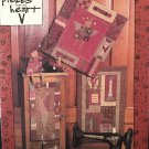 "Pieces from the Heart ""For the Love of Quilting"" #136 4 projects"