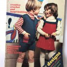 Children's Fashions Crochet Patterns Mon Tricot children edition no. 11 from 1973