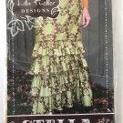 Stella Skirt Sewing Pattern sizes 2-18 Floor length ruffled skirt Lila Tueller Designs