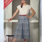 Butterick 5478 See & Sew Misses' Top and Culottes sewing Pattern Size 14 16 18