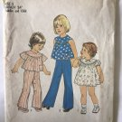 """Simplicity 7365 Toddlers' and Child's Dress or Top and Pants Sewing Pattern size 5 chest 24"""""""
